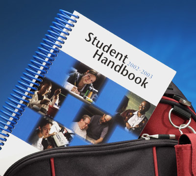 Durable Student Handbook Printed on YUPO Synthetic Paper