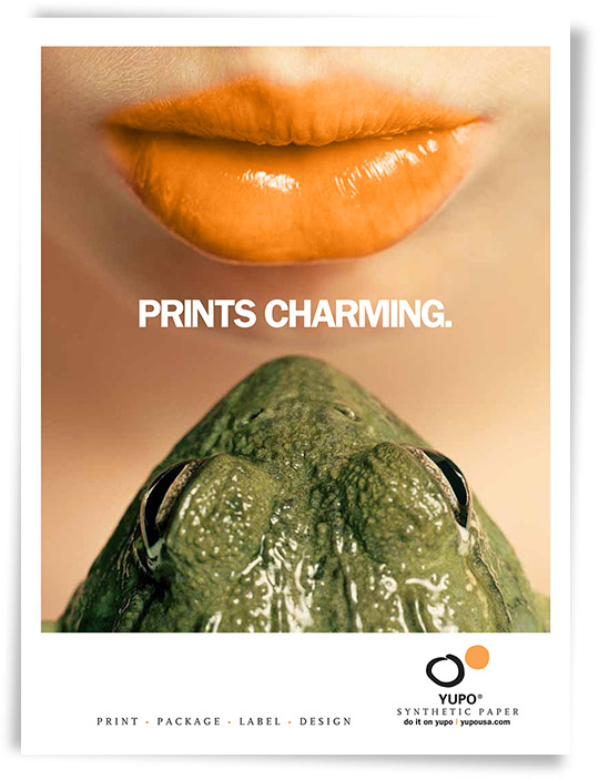Yupo Prints Charming ad