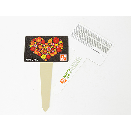 Home Depot Plant Marker Gift Card Carrier