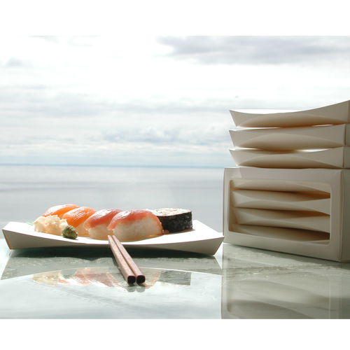 Paper Sushi Tray
