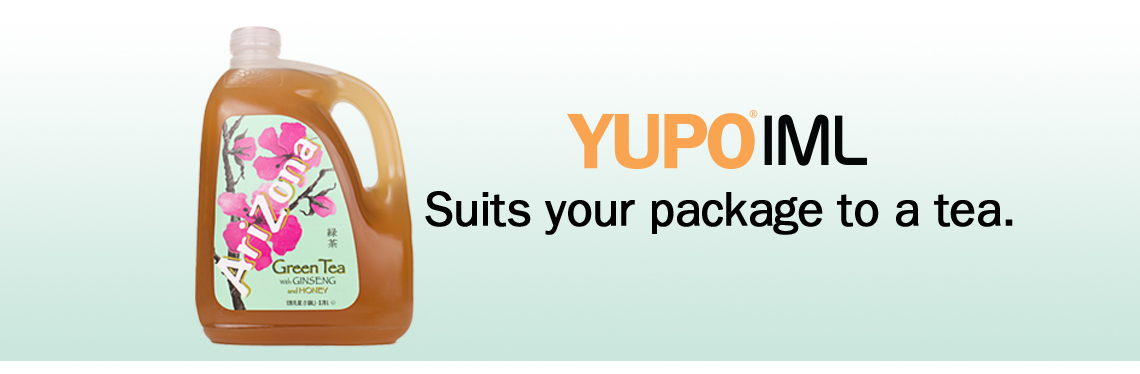 Yupo IML Suits your package to a tea.